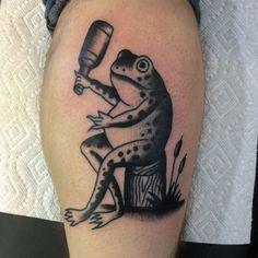 mpinnell:  Michigan frogger by handsomejaketattooer...