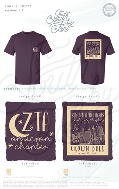 Zeta Tau Alpha | ZTA | Crown Ball | ZTA Nights and City Lights | Omicron Chapter | Formal T-Shirt Design | South by Sea | Greek Tee Shirts | Greek Tank Tops | Custom Apparel Design | Custom Greek Apparel | Sorority Tee Shirts | Sorority Tanks | Sorority Shirt Designs                                                                                                                                                                                 More