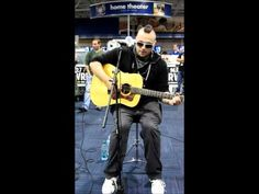 Justin Furstenfeld performing Amanda Gently and The Promise