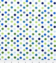 Nursery Fabric-Baby Zoo Dot: fabric: Shop | Joann.com