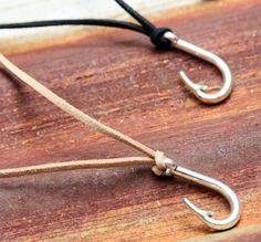 Poisson Crochet collier pendentif de crochet de par NevaStarr