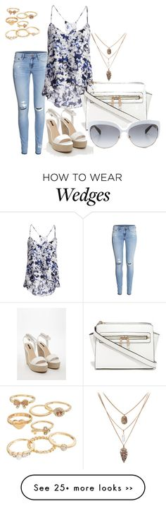 """:!"" by jelaxoxo on Polyvore featuring H&M, Parker, Forever 21, Mudd and Kate Spade"