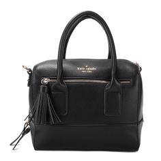 Kate Spade Southport Avenue Alessa Leather Satchel Purse Bag Black - $110.98 http://www.lhbon.com/kate-spade-southport-avenue-alessa-leather-satchel-purse-bag-black-p-2919.html
