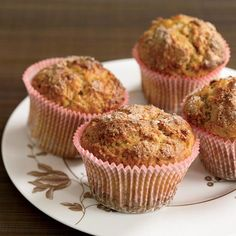 Spiced Yogurt Muffins | These ingeniously moist muffins from baker Jennifer Musty are rich in calcium and low in fat.