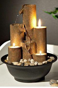 Relaxing Indoor Fountain Ideas (4) #IndoorFountains