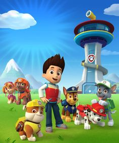 Paw Patrol high-res image