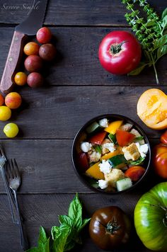 This Heirloom Panzanella Salad is a perfect way to enjoy summer's most ...