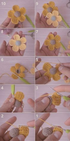 How To Crochet 5 Petal Flowers In Minutes? It's very simple all you want to do is to watch the step by step guided video tutorial. This beautiful crochet creation is beginner friendly Crochet Flower Tutorial, Crochet Flower Patterns, Crochet Stitches Patterns, Crochet Motif, Crochet Designs, Crochet Flowers, Knitting Patterns, Yarn Flowers, Crochet Hair Accessories