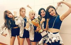 """EXID Takes 3rd Win for """"Ah Yeah"""" on """"Show Champion"""""""