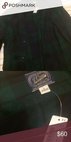 J. Crew men's flannel shirt NWT men's flannel shirt J. Crew Tops Button Down Shirts