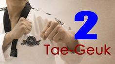 WTF Taekwondo poomsae Taegeuk 2 Jhang (taekwonwoo) 태극 2장