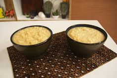 Doce de Leite Talhado Homemade Condensed Milk, Cornbread, Sweet Recipes, Caramel, Oatmeal, Breakfast, Ethnic Recipes, Desserts, Food