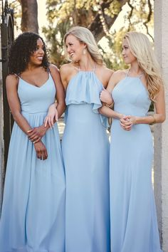 Ainsley in Chiffon Bridesmaid Dresses | Revelry