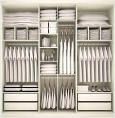 Resultado de imagem para guarda roupa planejado com sapateira