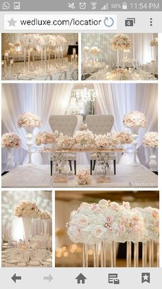 Bride And Groom Table U2026