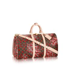 Kick summer vacations off with a new bag to brag about. The Louis Vuitton Keepall is stylish and light. Now available in the newest Monogram Jungle canvas, this carry on bag really lives up to its name with holding a full week's wardrobe.