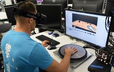 Oculus has revealed a new research project looking into haptic feedback in virtual reality named HapticWave, set to be on display this month at SIGGRAPH.