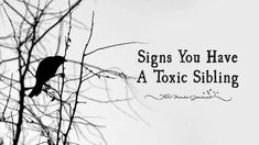 family quotes & We choose the most beautiful Signs You Have A Toxic Sibling for you.Signs You Have A Toxic Sibling - themindsjournal. most beautiful quotes ideas Broken Family Quotes, Toxic Family Quotes, Toxic Quotes, Toxic People Quotes, Sibling Quotes, Sister Quotes, Sibling Relationships, Toxic Relationships, Bad Sister