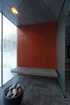 Concrete Sauna - River Sauna / Jensen & Skodvin Architects 01
