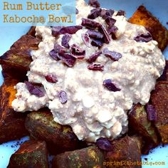 Strange But Good: Rum Butter Kabocha Bowl | Sprint 2 the Table