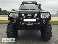 Nissan Patrol on 315x12.5x17 tyres.