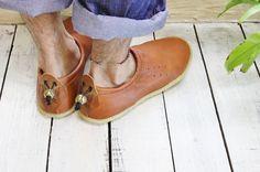 Deer Skin Moc Shoe