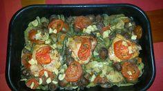 Flavour in Romanian Cuisine: Pulpe de pui pe pat de legume