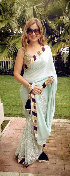 Designers Saree Collection 2013 find similar lace designs @ www.lacxo.com