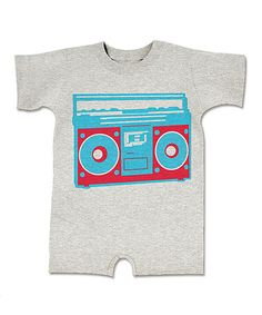 Take a look at this Ash Boom Box Romper - Infant by American Classics on #zulily today!
