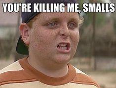 """""""You're killing me, Smalls!"""" – from 'The Sandlot'                                                                                                                                                                                 More #baseballbaseballbaseball"""
