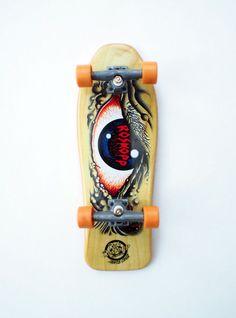 Santa cruz skateboard - Rob Roskopp Eye Tech Deck Collector Series, fingerboard