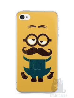 Capa Iphone 4/S Minions #3 - SmartCases - Acessórios para celulares e tablets :)