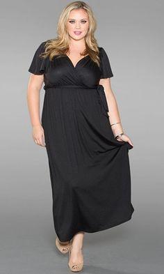 #plussize #plus #size #plussize #plus_size #curvy #fashion #clothes #maxi Shop www.curvaliciousclothes.com SAVE 15% Use code: SVE15 at checkout Melissa Maxi Dress