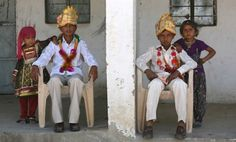 March 12, 2012: In the village of Vadia in Gujarat, India this weekend, a mass engagement ceremony for 21 young girls was held to protect them from a life of prostitution.