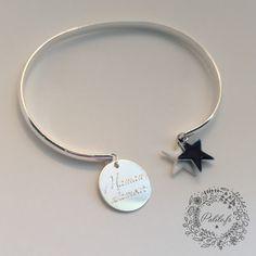 """Bracelet jonc argent personnalisé """"Jonc de la star"""" bis by Palilo"""
