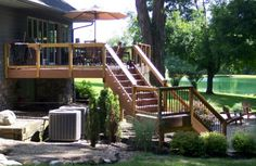 A great looking deck in a fabulous setting!
