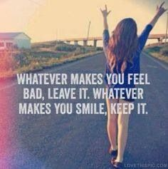 I will no longer fake a smile for i will only smile for myself & live for myself.