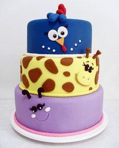 Decoração de Bolos para Aniversário infantil