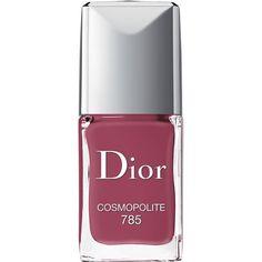 Dior Dior Vernis Gel Shine & Long Wear Nail Lacquer/0.33 oz. (505 MXN) ❤ liked on Polyvore featuring beauty products, nail care, nail polish, makeup, beauty, nails, fillers, cosmopolite, shiny nail polish and gel nail polish