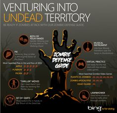 Are you ready if zombies attack? We've spent hours gathering tips from our favorite movies on #Bing. http://binged.it/T0DEvf