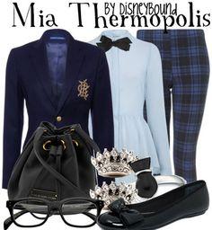 Disney Bound - Mia Thermopolis (The Princess Diaries)