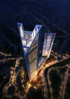 Vietnam's Stunning New Skyscraper  UK-based design firm Foster + Partners has broken ground for the VietinBank Business Centre in Hanoi, Vietnam, the design firm's first project in the country.