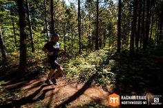 Through the Wisconsin woods at Ragnar Trial Northwoods-WI
