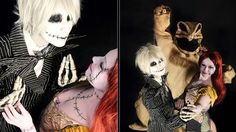 Wow, best Jack & Sally cosplay ever! Best Movie Art Ever (This Week): \'Nightmare Before Christmas\' Arts & Crafts