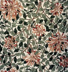 honeysuckle pattern - Google Search