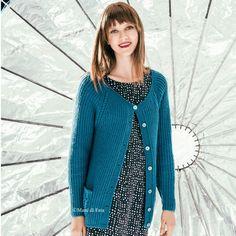 lana per fare a maglia il cardigan da donna