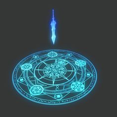 Magick, Men and Mayhem Anime Weapons, Fantasy Weapons, Spell Circle, Anim Gif, Elemental Powers, Sword Design, Magic Symbols, Weapon Concept Art, Magic Art