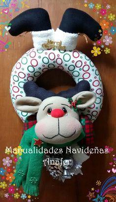 Christmas Moose, Christmas Crafts, Christmas Ornaments, Pasta Flexible, Decoupage, December, Holiday Decor, Diy, Patterns