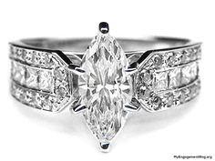 How Are Vintage Gemstone Diamond Engagement Rings Totally Different From Modern Rings? If you are deciding from the vintage or modern gemstone diamond engagement ring, there's a great consid… Expensive Diamond Rings, Expensive Engagement Rings, Best Engagement Rings, Vintage Engagement Rings, Oval Engagement, Wedding Jewelry, Wedding Rings, Gold Wedding, Marquise Diamond