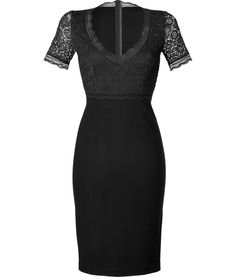 BLUMARINE  SEE DETAILS HERE: Black Lace Bodice Dress